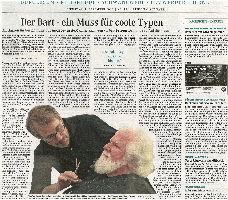 Torsten_Dembny_WK_DieNorddeutsche_02.Dez14